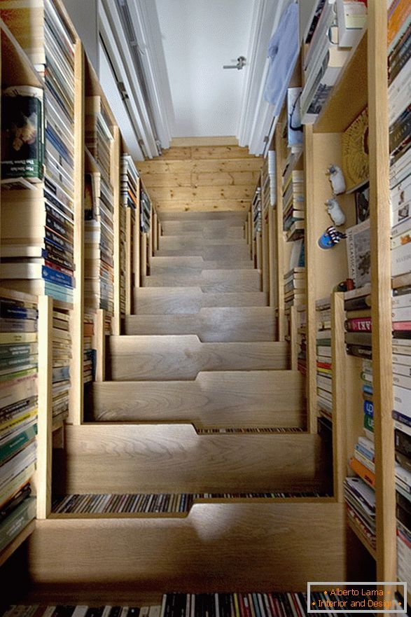 Steps from books