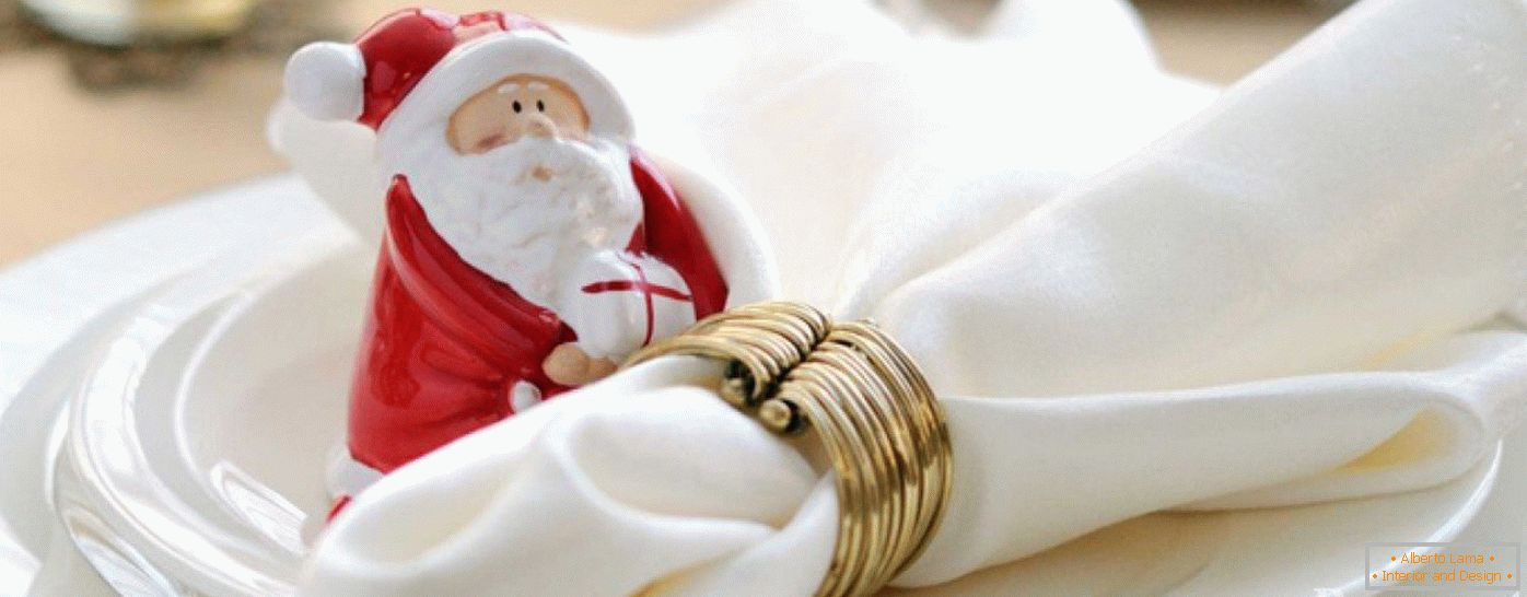 Figurine of Santa Claus for decoration