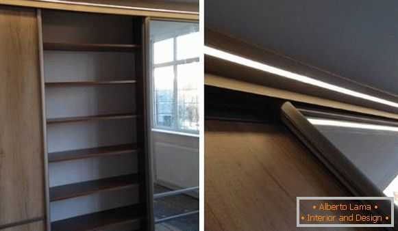 Built-in led cabinet light