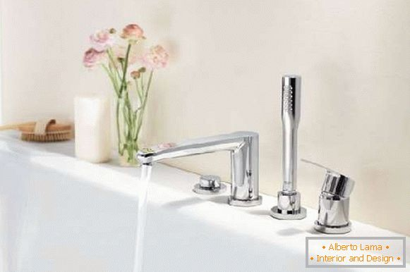 mortise mixers for a bath, photo 23
