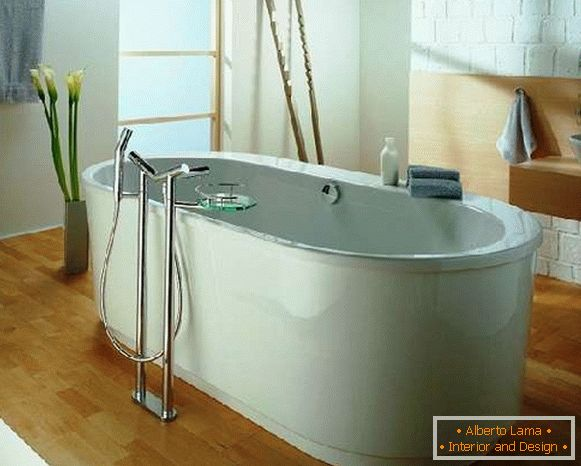 Bathtub faucet with shower, Picture 25