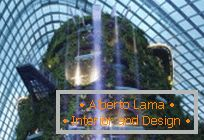 Modern architecture: winter gardens in Singapore - an amazing miracle of the world