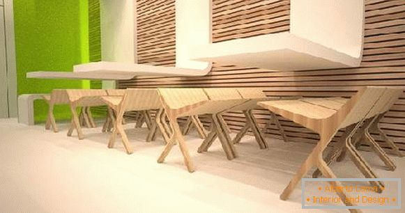 designer furniture from plywood, photo 6