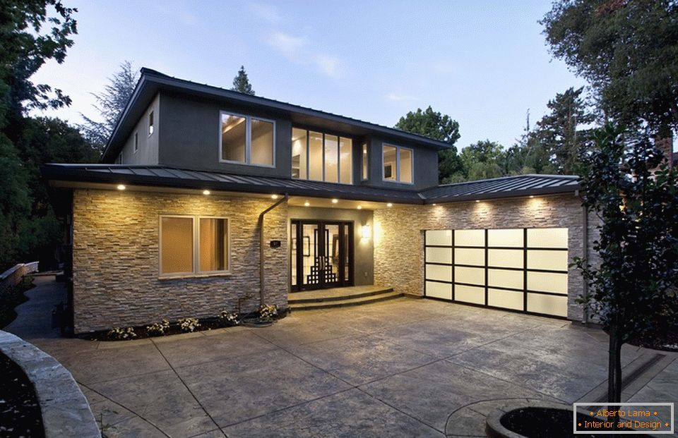 Glass Matte Garage Doors