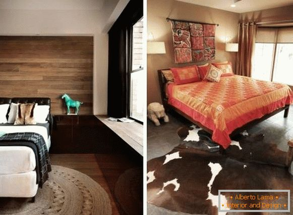 Interesting interior decoration items of the bedroom