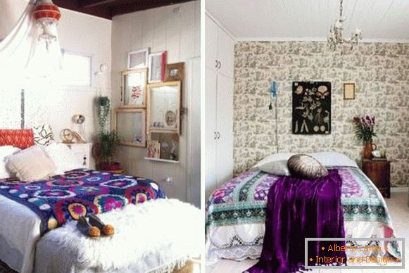Bedroom in Boho style - photos of the best ideas