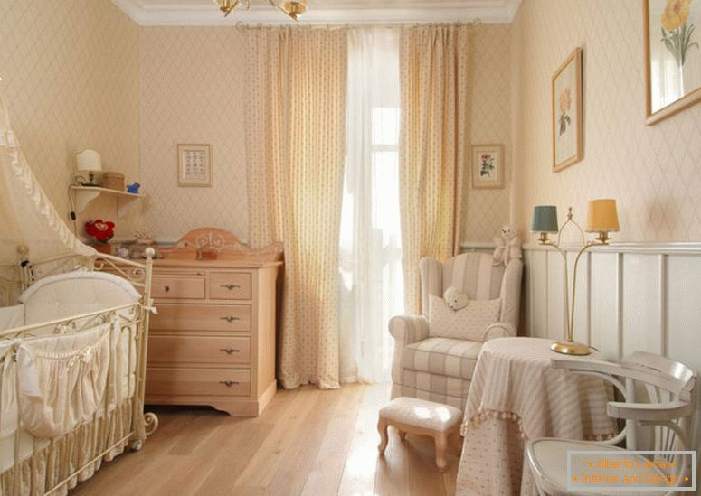 styles-in-the-interior-provence-in-the-nursery-room