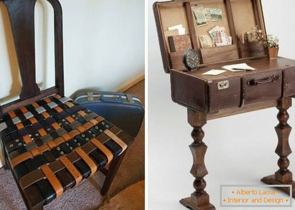 Steampunk furniture - photos of ideas with your own hands