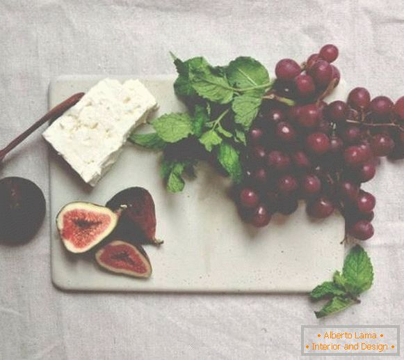 Crafts for home and kitchen: concrete board