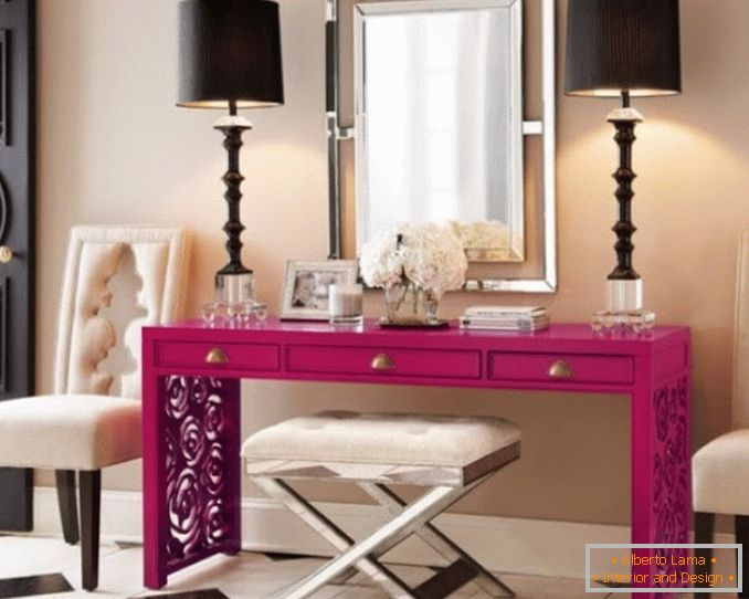 Dressing tables with a mirror for a bedroom photo 11