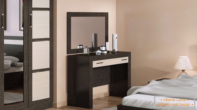 Dressing tables with a mirror for a bedroom photo 12