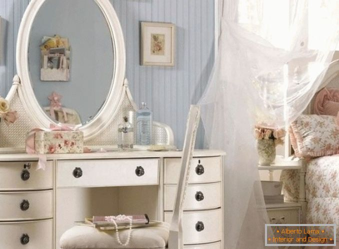 Dressing tables with a mirror for a bedroom photo 3