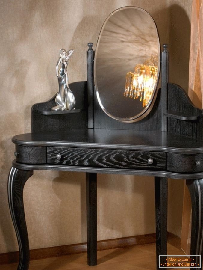 Corner dressing table for a bedroom photo 34