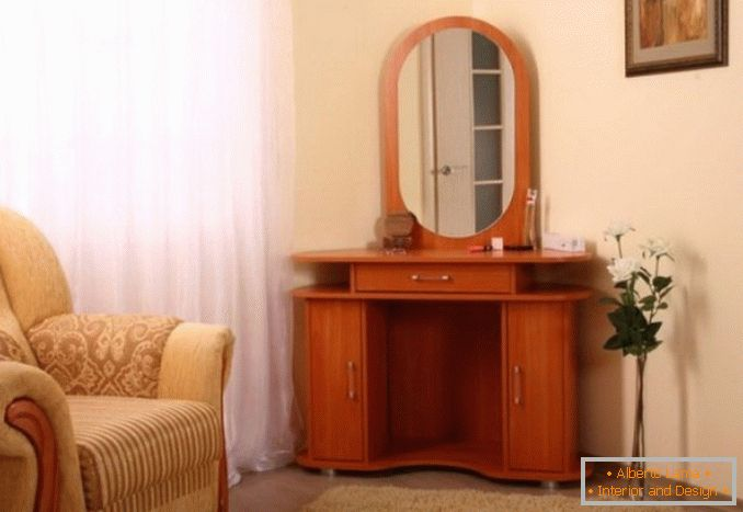 Corner dressing table for a bedroom photo 35