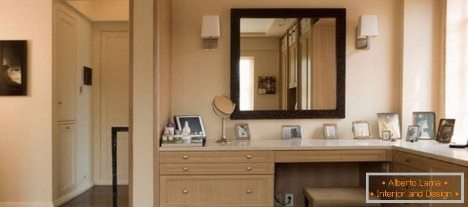 Corner dressing table for a bedroom photo 38