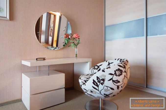 Dressing tables with a mirror for a bedroom photo 5