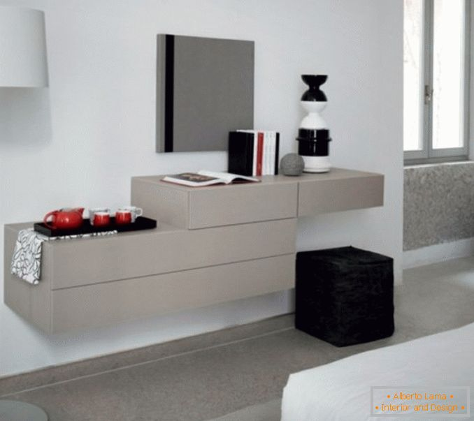 Dressing tables with a mirror for a bedroom photo 7