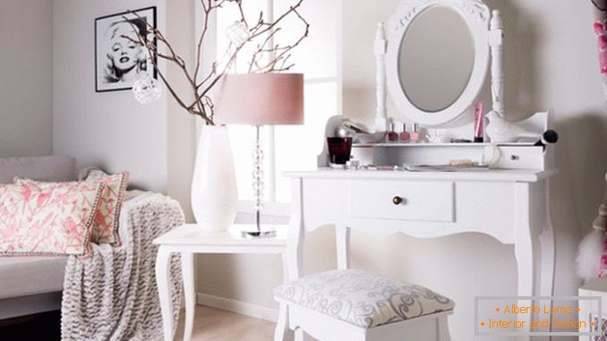 Dressing tables with a mirror for a bedroom photo 9
