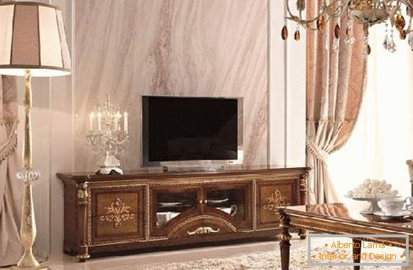 TV stand in a classic style, photo 26