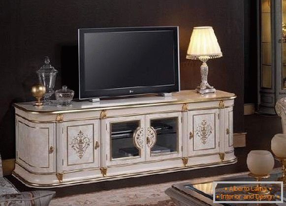 TV stand in a classic style photo, photo 30