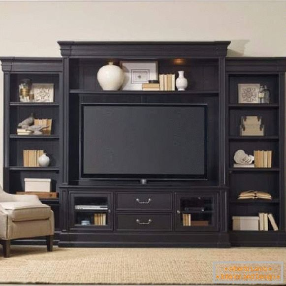 TV cabinet in the interior photo, photo 37