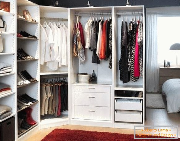 info for f201c e8f1f Corner wardrobe compartment in the bedroom: photos and