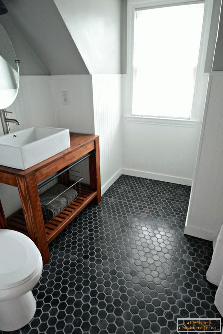 black-bathroom-floor
