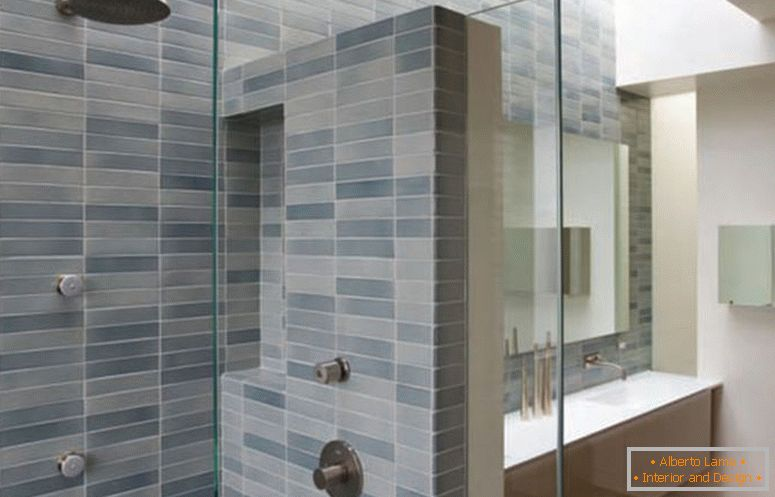 tile-bathroom-with-rustic-bathroom-tile-design-ideas-and-modern-bathtub-also-simple