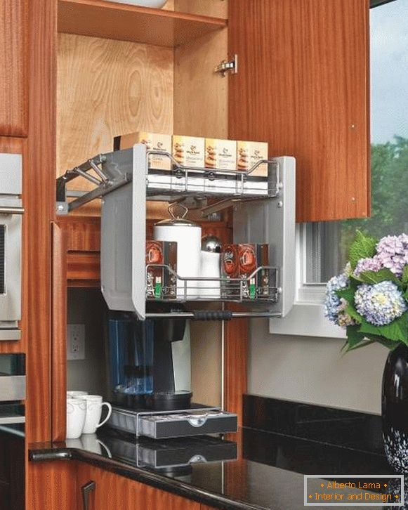 Functional smart retractable kitchen systems