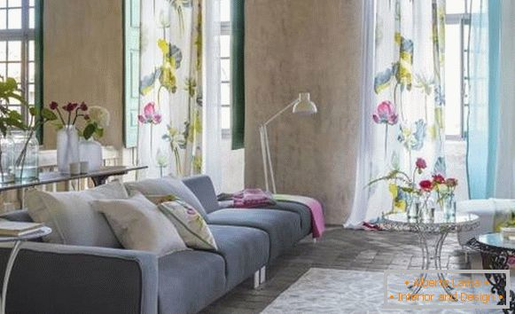 Textiles and flowers - the best spring decor for the interior