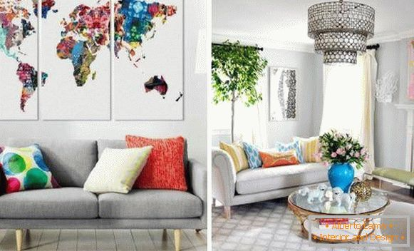 Wall decoration by spring with your own hands photo