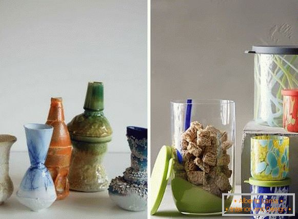 Spring decor of the interior with your own hands - vases
