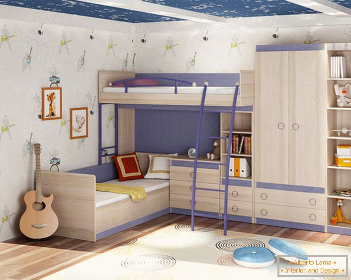 Creative room for a child