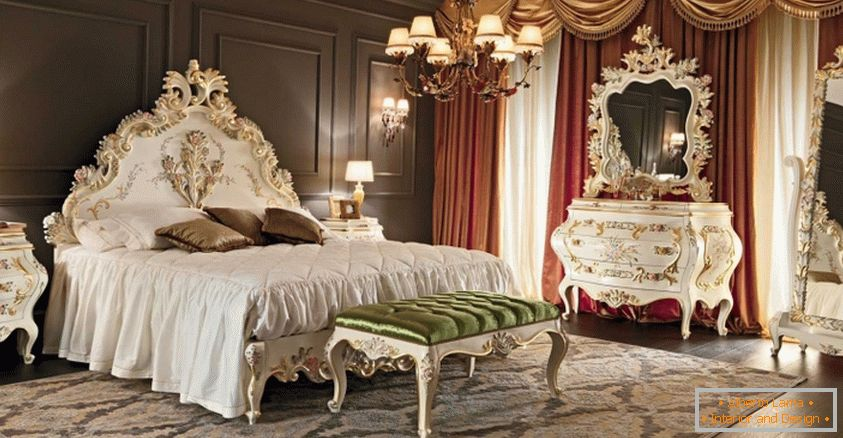 Bedroom interior in Victorian style & Victorian style in the interior: the history of creation and